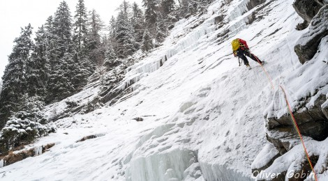 Ice climbing in Maltatal