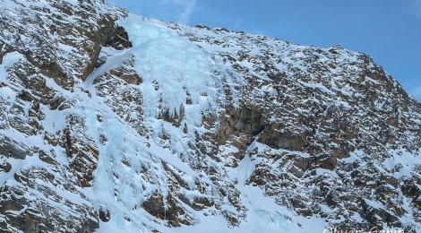 Plattkogel icefall