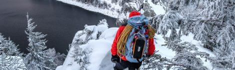 Ice climbing @ Lac Blanc