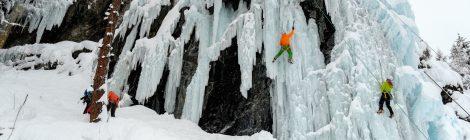 Ausbildung zum Trainer Eisfallklettern